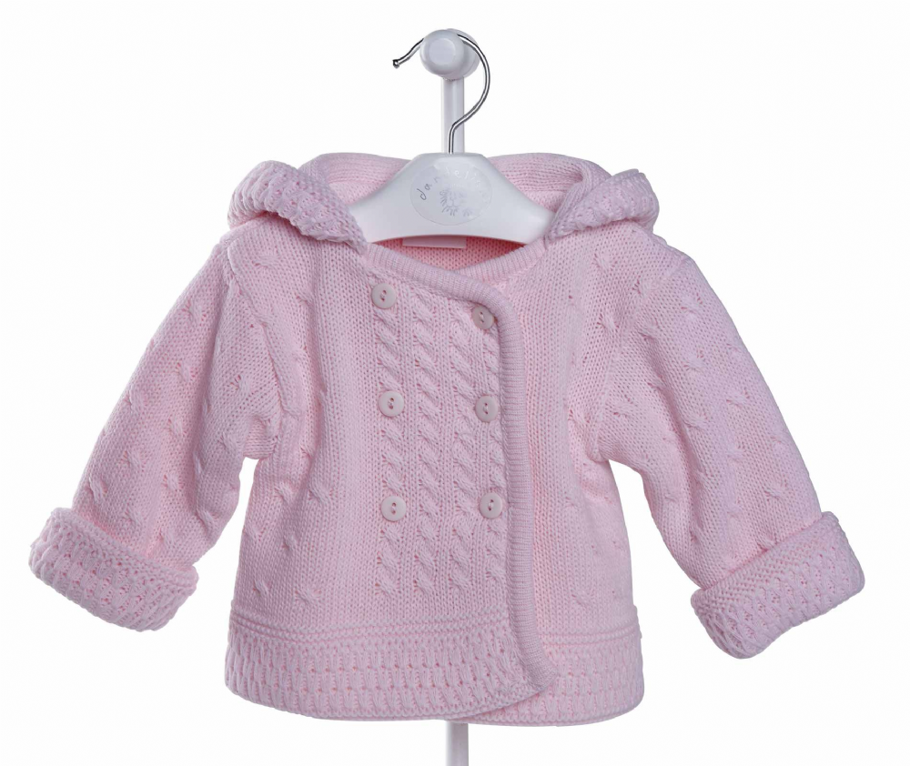 A1654 New Double knitted Baby Jacket (P)